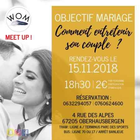 Meet Up 1er Edition - WOM Evenements